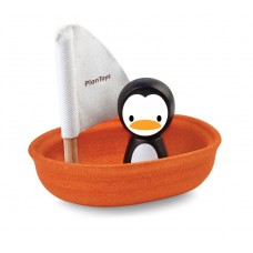 Zeilboot pinguin, Plan Toys