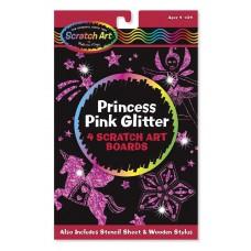 Scratch Art Princess pink glitter, Melissa & Doug