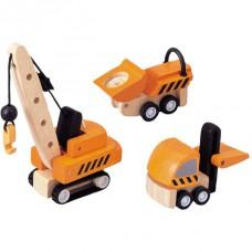Constructie voertuigen, Plan Toys