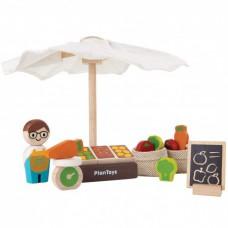 Speelset markt, Plan Toys
