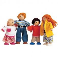 Poppenhuisfamilie, Plan Toys