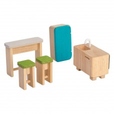 Keuken poppenhuis, Plan Toys