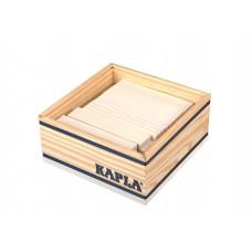 40 Kapla plankjes in kistje, wit