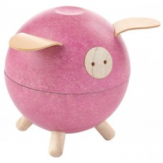 Spaarvarken roze, Plan toys