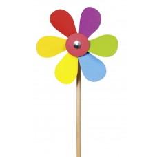 Houten windmolen bloem, Goki