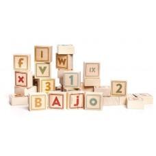 Cijfer- en letterblokken 40-delig, Bajo