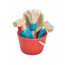 Houten schoonmaakset, Plan Toys