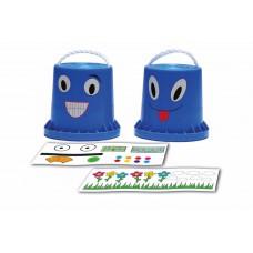 Loopklossen met stickers, BS Toys