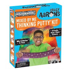 Holographic thinking putty kit, Crazy Aarons