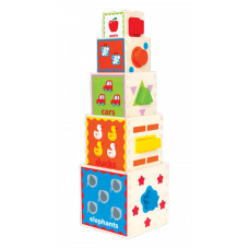 Pyramid of Play stapelkubus, Hape