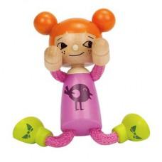 Poppenhuispop modern klein meisje, Hape
