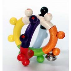 Flexibele houten rammelaar bol, Hess
