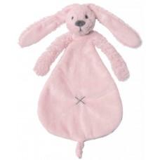 Knuffeldoekje konijn Richie pink, Happy Horse