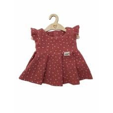 Jurkje Spring Blush Dots babypop 34 cm, Hollie
