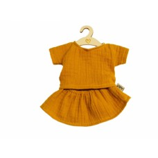 Rokje en shirt Ochre babypop 34 cm, Hollie