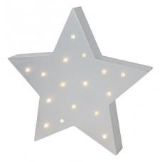 Houten lamp ster, JaBaDaBaDo