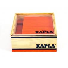 40 Kapla plankjes in kistje, oranje