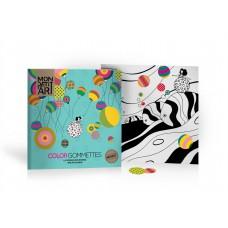 La ronde des ronds kleur- en stickerboek, Mon Petit Art
