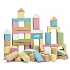 Houten blokken pastel Micki