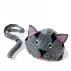 Dierenmuts en staart kat, Oskar & Ellen