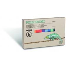 Zachte pastelkrijt 12 kleuren, Primo Pro