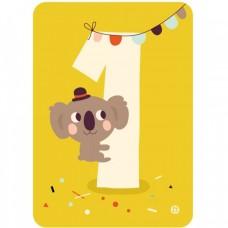 Koala 1, kaart & envelop, Bora