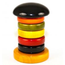 Eco stapeltoren met ringen