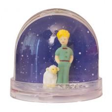 Glitter sneeuwbol De Kleine Prins