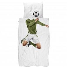 Dekbedovertrek Soccer Champ groen, Snurk