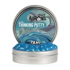 Teal, Crazy Aarons thinking Putty