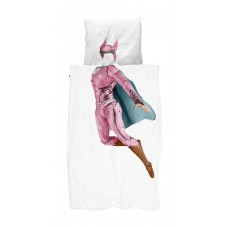 Dekbedovertrek Superhero Pink, Snurk