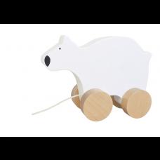Houten trekdier ijsbeer, JaBaDaBaDo