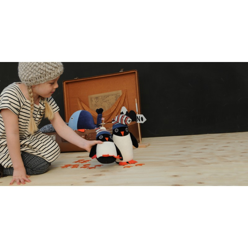 Muziekdoos pinguin Ned, Esthex