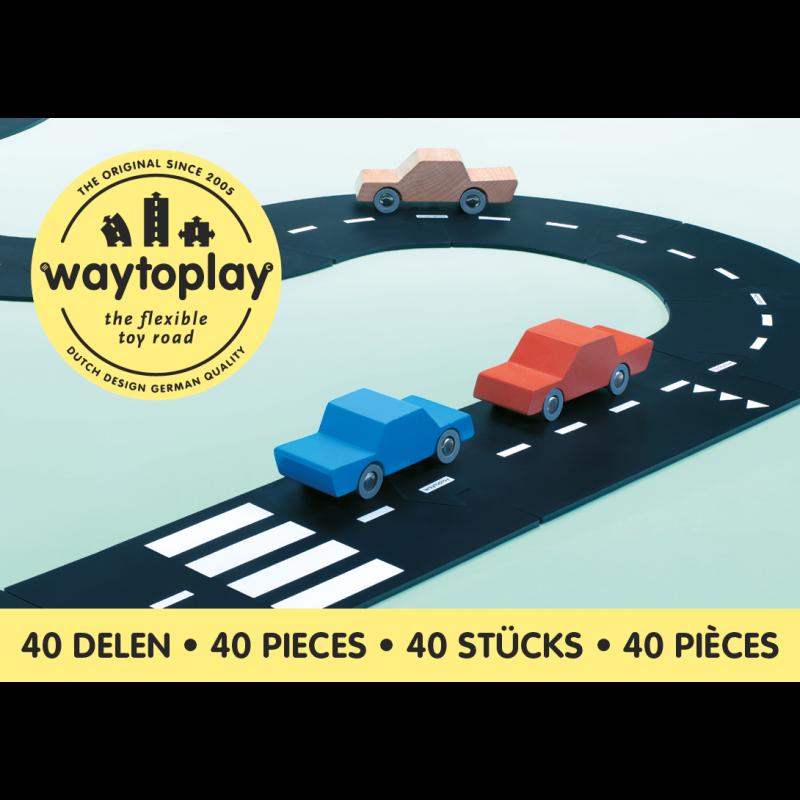 King of the Road set 40-delig, Waytoplay