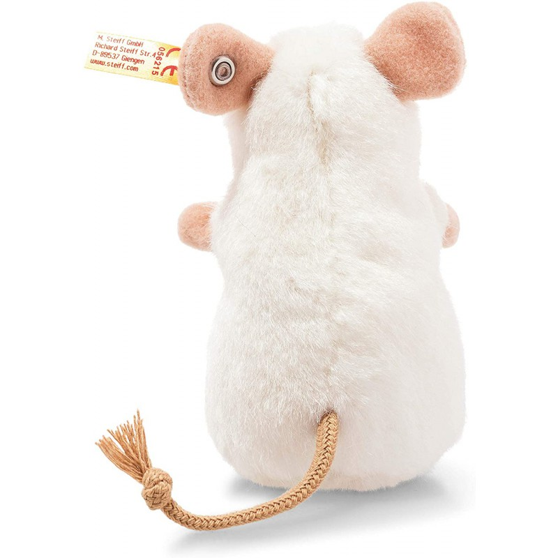 Witte muis Pilla 10 cm, Steiff