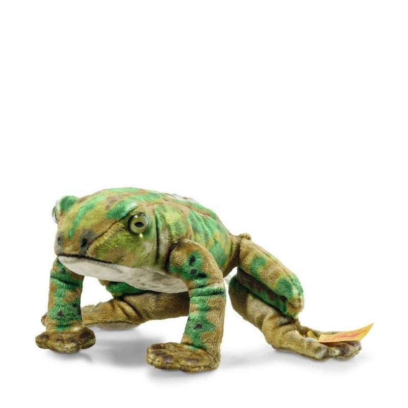 Kikker Froggy 12 cm, Steiff National Geographic