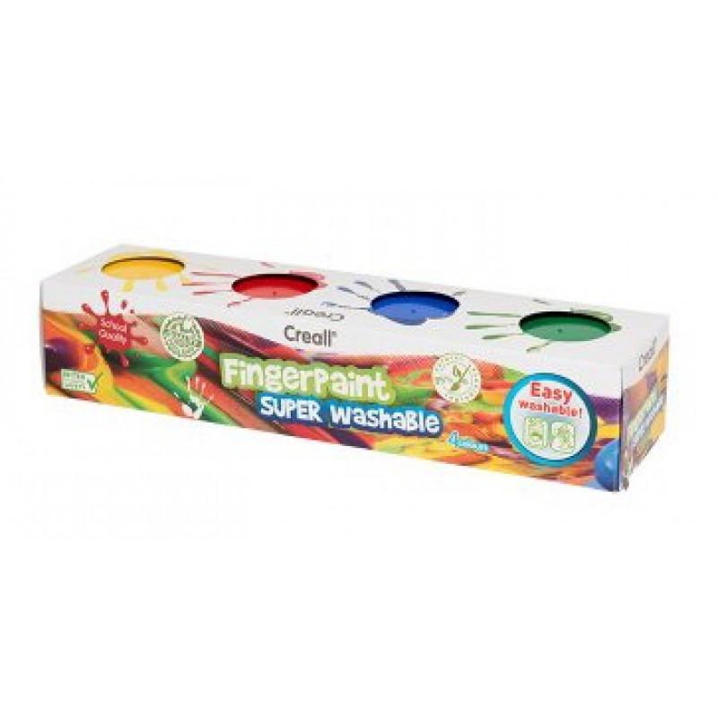 Vingerverf 4 kleuren, Creall