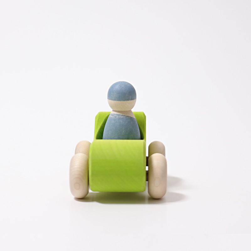 Kleine cabrio groen, Grimm's