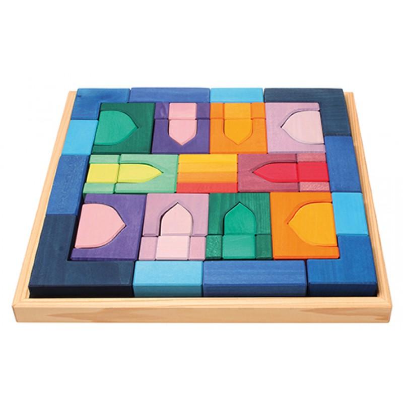Gigantische blokkenpuzzel 1001 Nacht, Grimm's