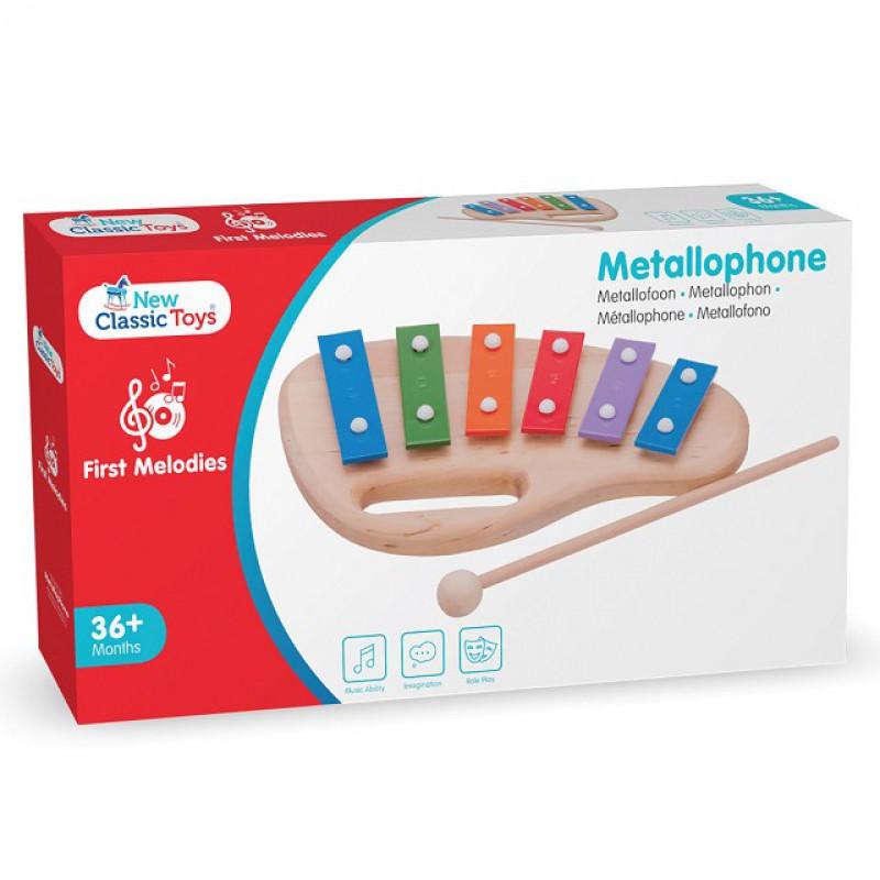 Metallofoon 6 tonen