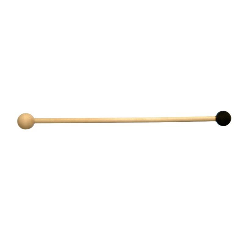 Trommelstok rubber/hout