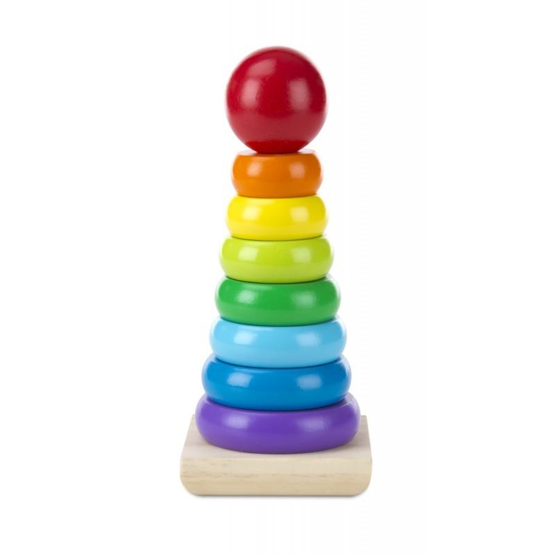 Stapelringen regenboog, Melissa & Doug
