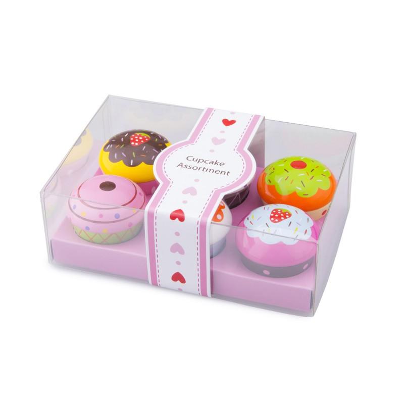 Houten cupcakes