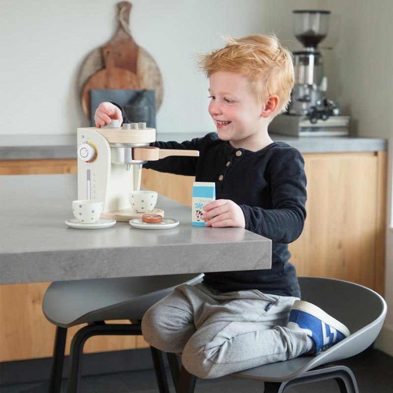 Houten koffiezetter, New Classic Toys