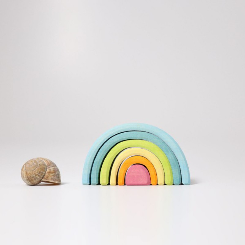Kleine regenboog pastel, Grimm's