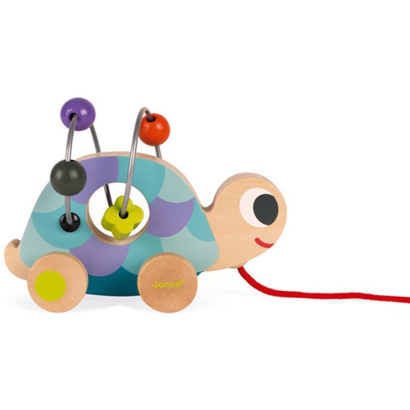 Mini looping schildpad, Janod