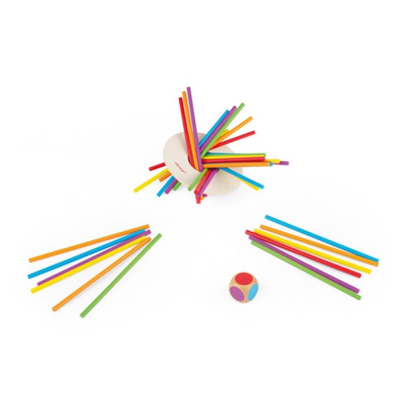 Crazy Sticks spel, Janod