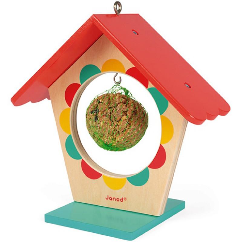 Mijn eerste vogelvoederhuis, Janod