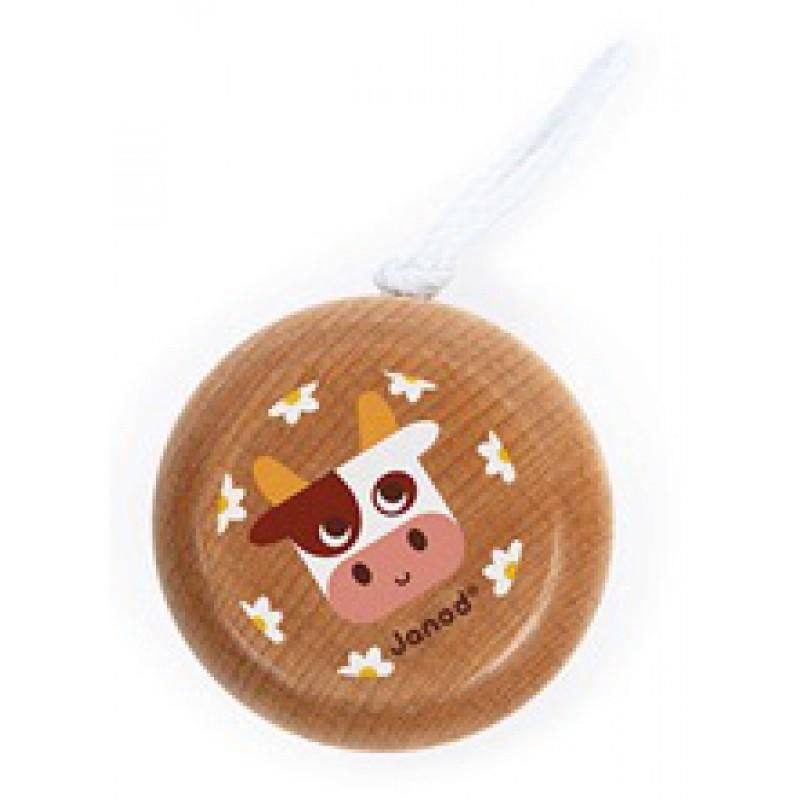 Houten jojo koe, Janod