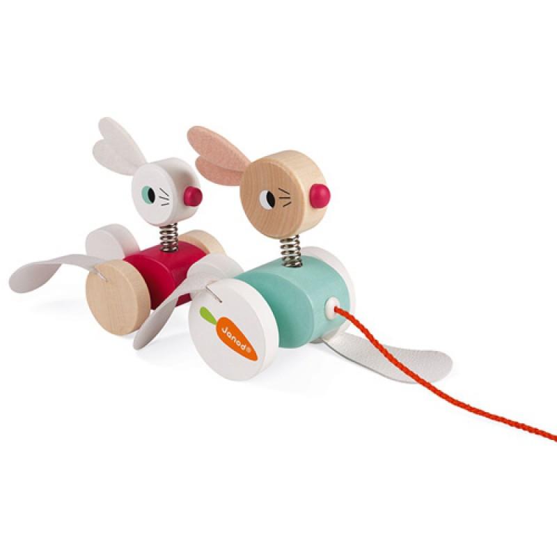 Trekfiguur konijnen, Janod